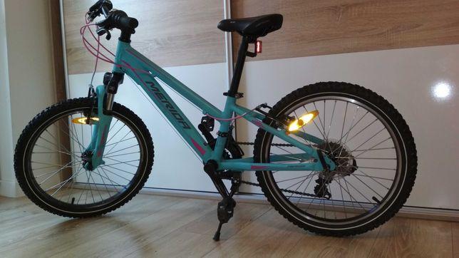 rower 20'' - DWIE PRZERZUTKI Z PRZODU -  Merida matts j.20 - 2017