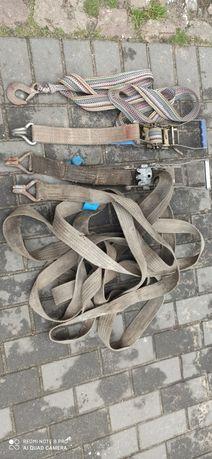 pasy transportowe zaciągajace mocujące haki
