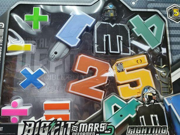 """Робот-трансформер """"Цифры"""" от 1 до 5"""