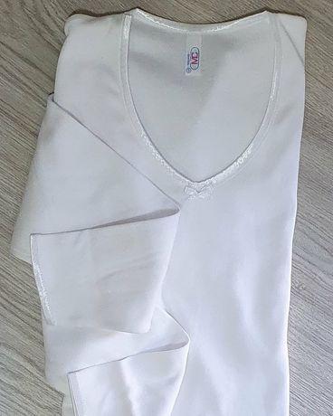 Camisola interior cardada 100%algodão