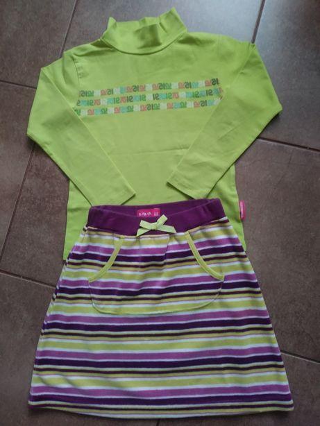 Spódniczka+bluzka