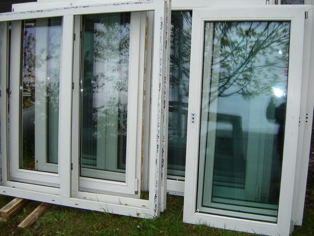 okna pcv z demontazu)