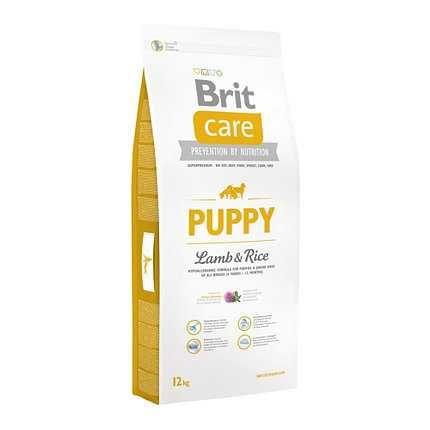 Корм Brit Care Puppy Lamb & Rice (для щенков) 3 кг и 12 кг