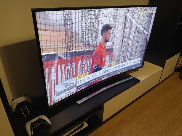 "Televisao smart tv samsung 55"" curva uhd 4k"