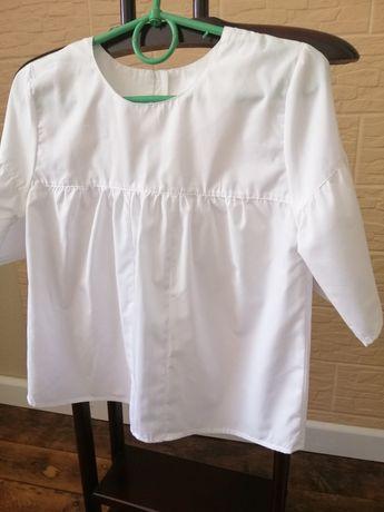 Блуза білого кольру