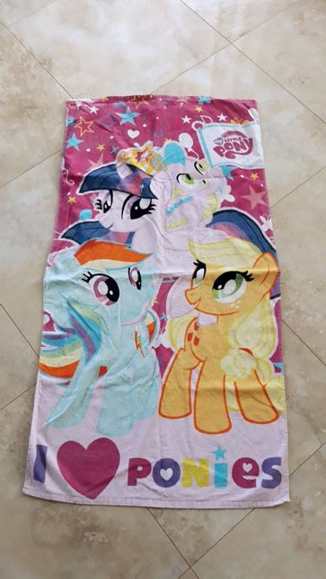 Ręcznik kąpielowy i spódnica piankowa MLP My Little Pony