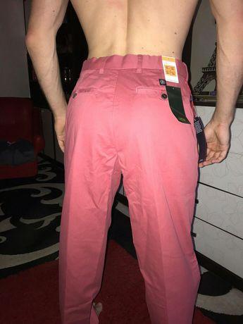 Джинсы штаны брюки летние коралловые 30 размер Mark and Spenser marks