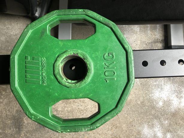 Obciążenie Olimpijskie ogumowane 5kg, 10kg używane