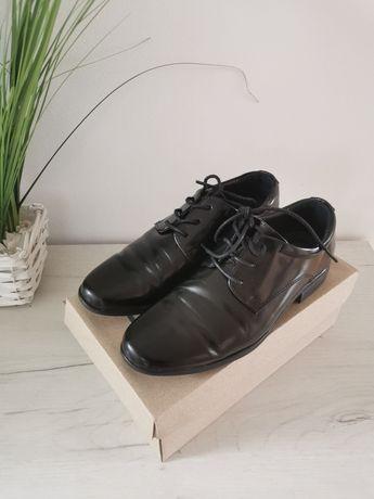 Buty komunijne wizytowe r. 36 chłopięce eleganckie