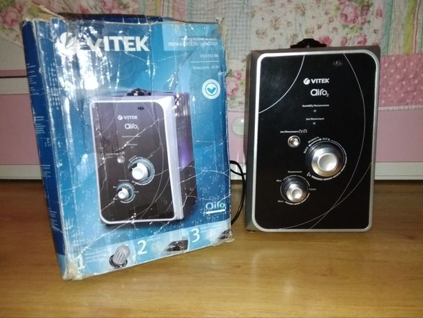 Ультразвуковой увлажнитель воздуха Vitek+запасной фильтр в подарок.