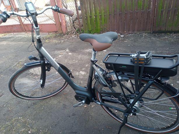 Rower elektryczny Gazelle Shimano