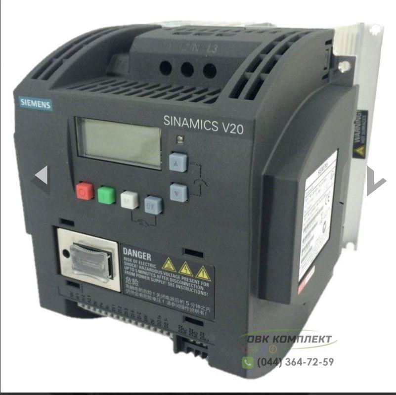 Частотный преобразователь / частотник  новый , подключение от 1 фазы