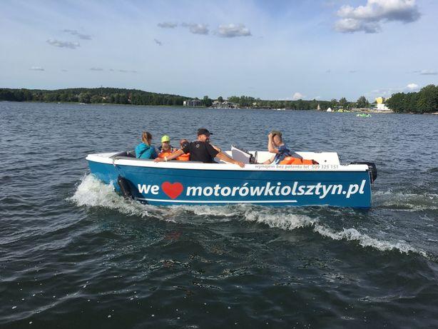 najnowocześniejsze motorówki bez patentu w Olsztynie!