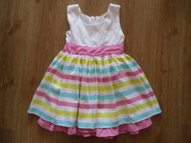 Wizytowa elegancka sukienka Cool Club roz. 104