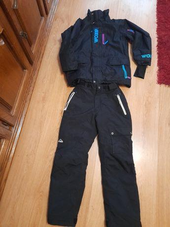 Kurtka i spodnie narciarskie 152r