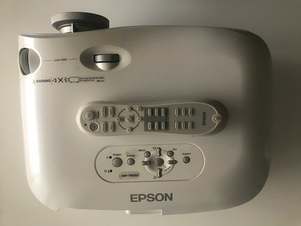 Projektor Epson EMP-TW680 + pilot