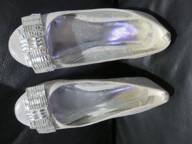 pantofelki MONSOON buty dla dziewczynki rozm. 34