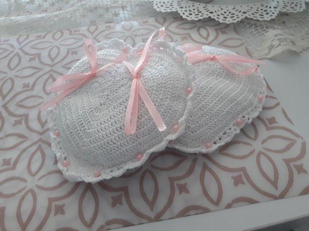 Poduszka na obrączki do ślubu 2 szt