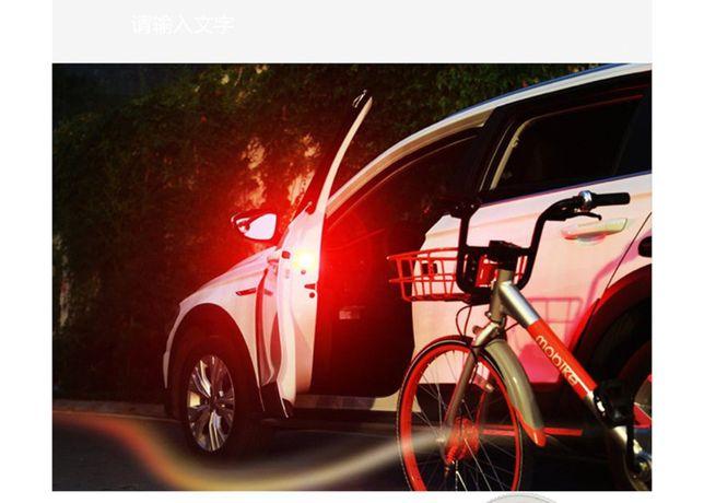 Новинка, 5 светодиодов, предупреждающие огни для открывания двери авто