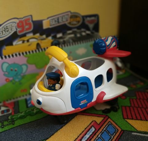 Samolot Little People Fisher Price