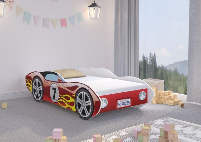 Łóżko Auto CORVETTA 160x80 + materac - SAMOCHÓD !