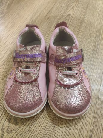Кроссовки для девочки Шалунишка, КОЖА !