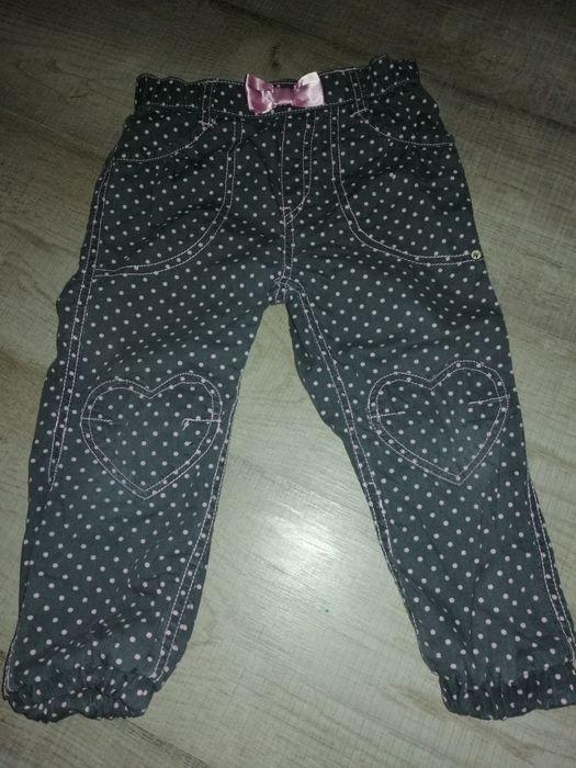3 pary ocieplanych spodni dla dziewczynki Warszawa - image 1