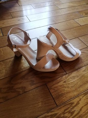 Nowe, ładne sandały :)