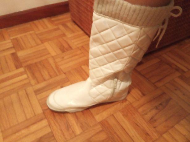Botas cano alto + sapatos lolita