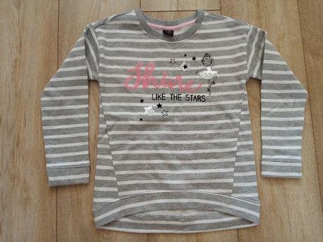 Nowa modna bluza dla dziewczynki rozm 122 Shine