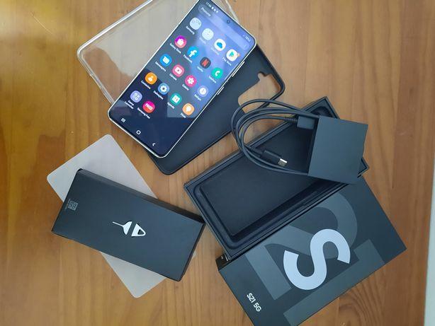 Samsung S21 Branco 5G 128Gb 12Gb Ram - Aceito Retomas do meu interesse