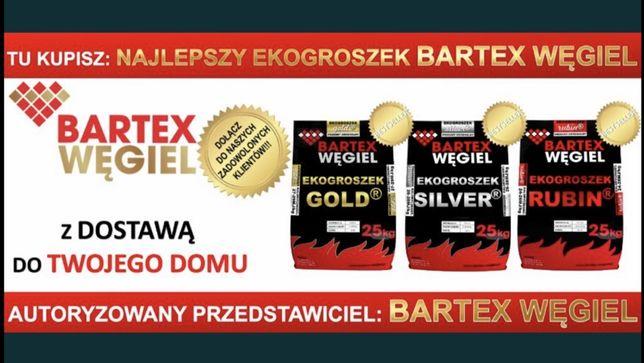 Ekogroszek Bartex Gold Silwer Rubin Grudzień Pelet