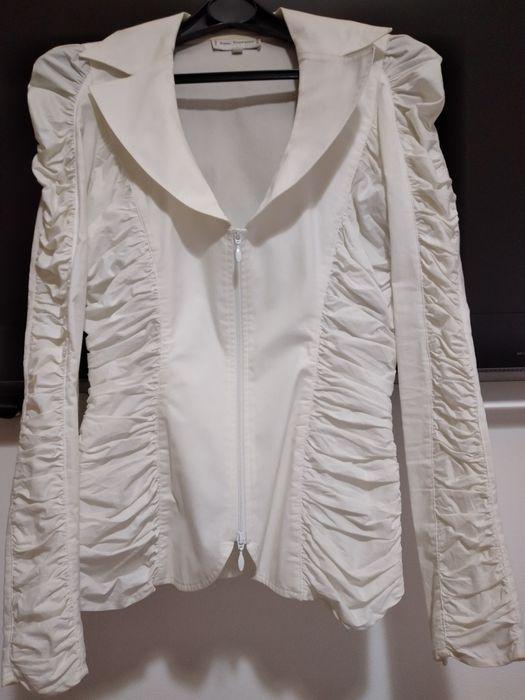 Casaco branco justo muito elegante Faro (Sé E São Pedro) - imagem 1