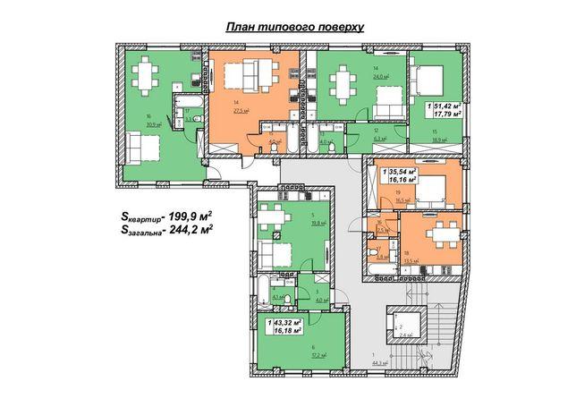 Продам 1 -2 кімнатну квартиру в центрі