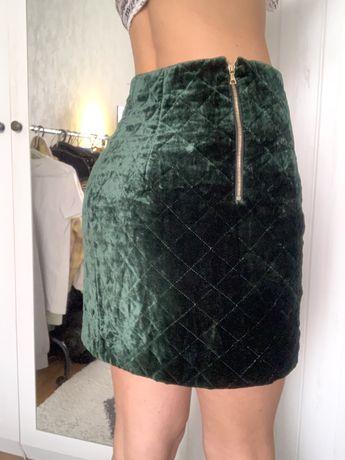 Юбка sandro ferragammo gucci мини юбка  бархат шелк