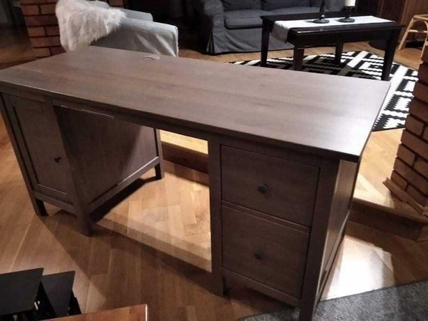 biurko hemnes bejca 155x65
