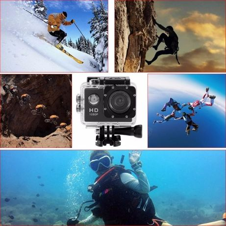Экшн камера Action Camera D600 1920x1080, FULL HD, есть опт, дроп
