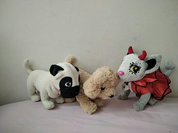 Мягкая игрушка собака собачка Chi chi love Simba мопс монстер