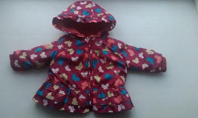 Курточка на девочку 6-12 месяцев