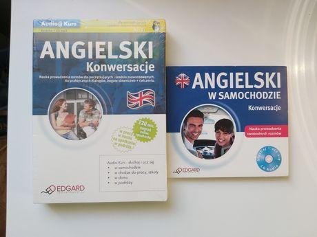 Nauka języka angielskiego konwersancje płyta cd książka