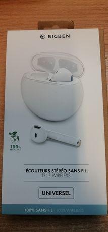 Słuchawki bezprzewodowe Bluetooth, nowe nieużywane