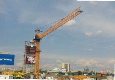 Продам башенный кран Peiner MK 160.gt187.кб403 - 2005 г.в. Київ - зображення 1