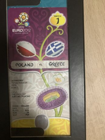 Bilet Euro 2012 Kolekcjonerski