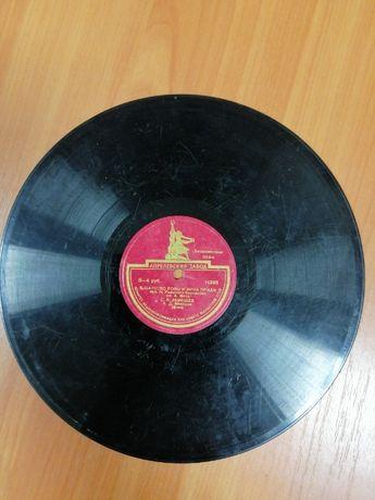 Голос Лемешева на пластинке 1956 года выпуска