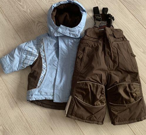 Комбінезон зимовий дитячий, костюм зимовий, куртка брюки зимові