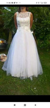Suknia ślubna, rozm. od M do L, Xl