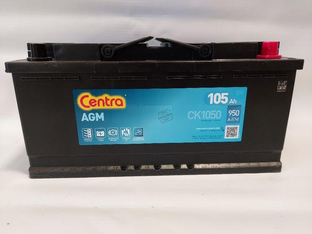 Akumulator CENTRA AGM CK1050 12V 105AH 950A