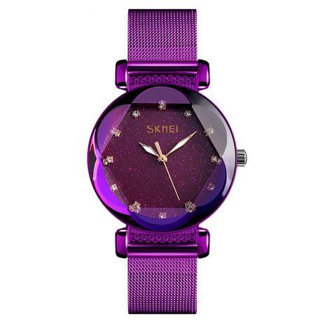 Часы Skmei 9188BOXSPL Purple Steel Belt BOX