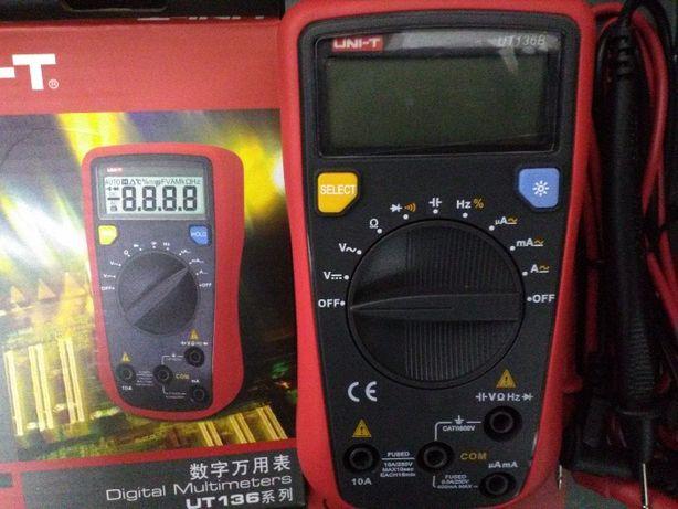 Multímetro UT61B, UT136B, Pinça aperimétrica UT204A/UT201/MT87