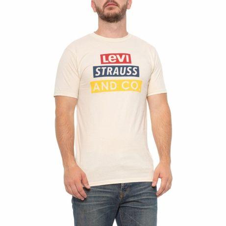 Футболка Levis - оригинал из США. Размер XL - полно размерная.